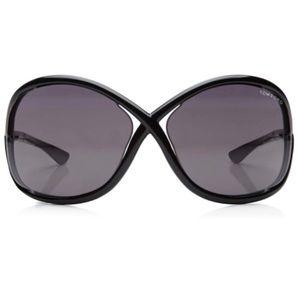 Tom Ford Black Whitney Sunglasses